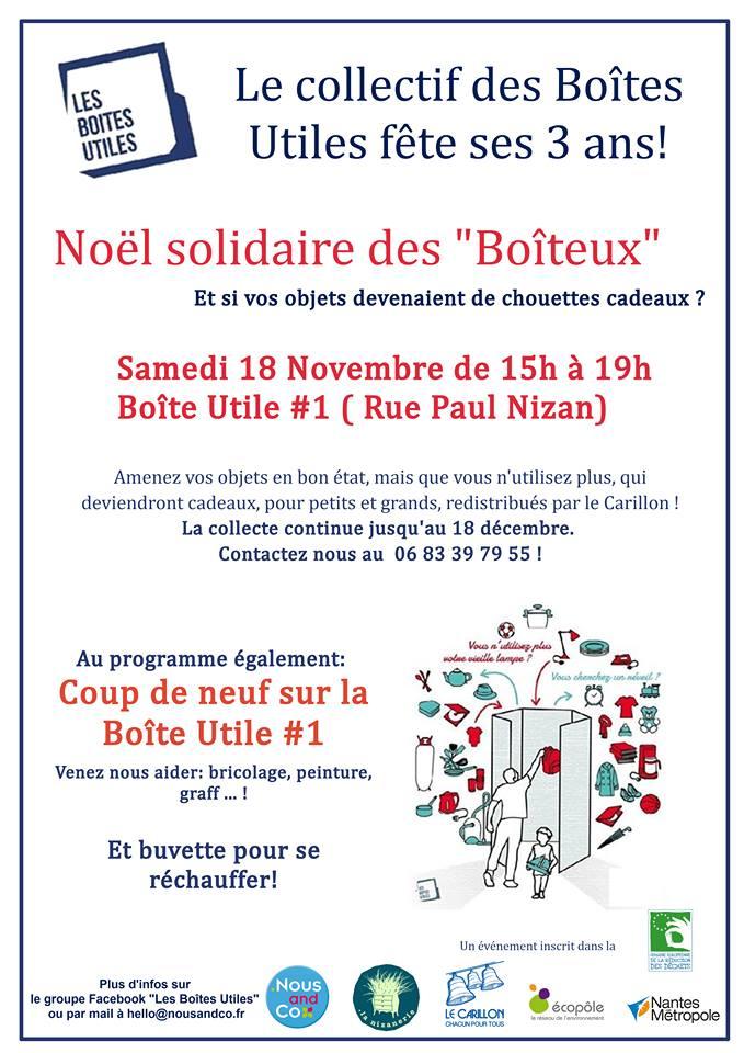 Affiche SERD 2017 Noël Solidaire